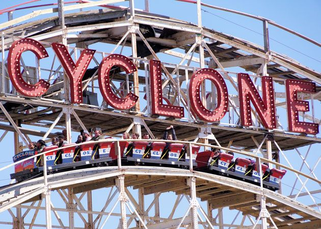 Coney Island's Luna Park and Deno's Wonder Wheel Park Open This Weekend