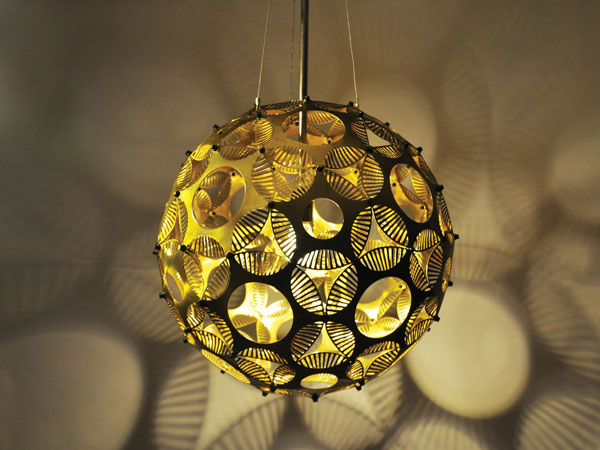 Dimpleball Orb Pendant Light
