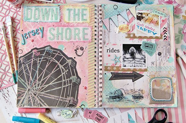 Preserve Your Family Vacation Memories in a Scrapbook
