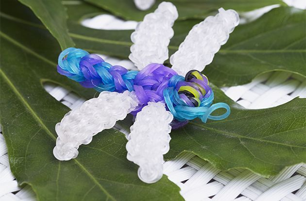 How to Make a Dragonfly on a Rainbow Loom