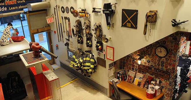 Visit the FDNY Fire Zone at Rockefeller Center