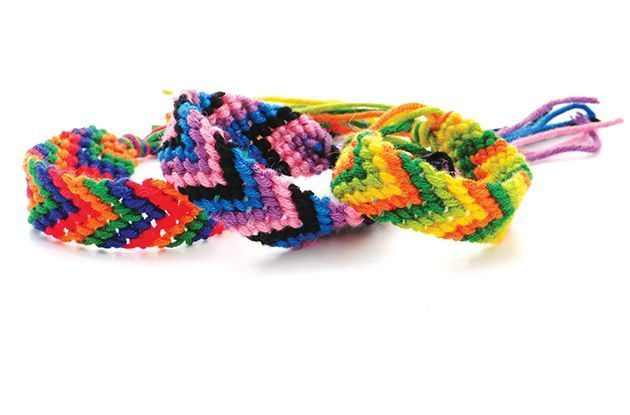 Bring Camp Crafts Home with Friendship Bracelets