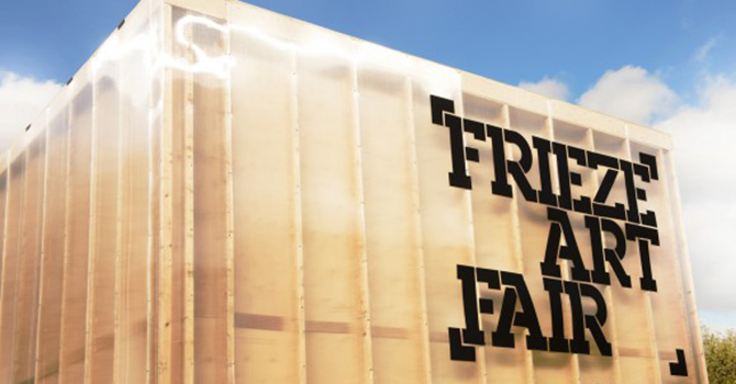 Frieze Art Fair at Randall's Island