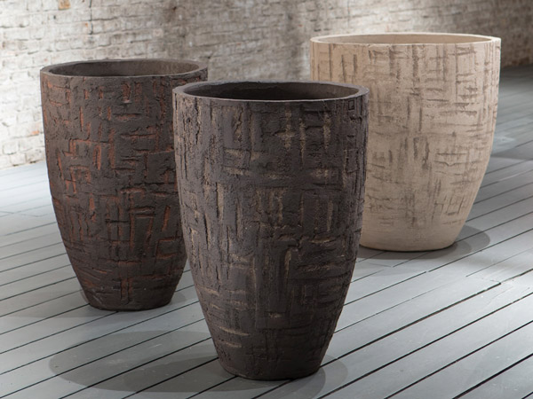 Atelier Vierkant's Fired Clay Planters