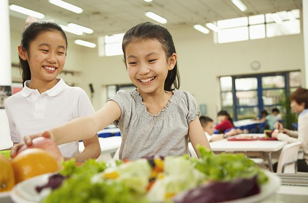 Help Kids Make Healthier Choices at School