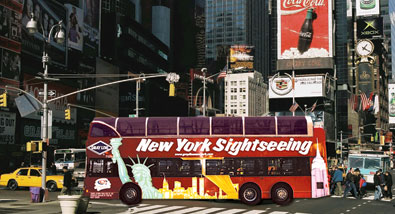 Around New York in a Whirl - The Best NYC Bus Tours