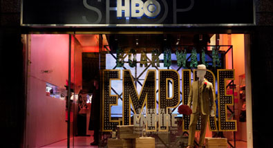 NYC's HBO Shop Features Boardwalk Empire Costumes & Props on Display