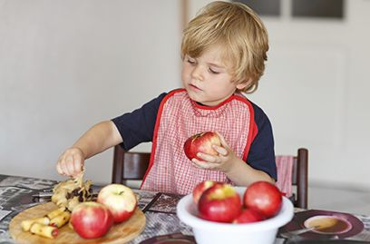 How Can I Get My Child to Eat Healthy Food?