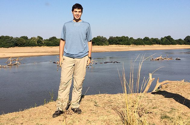 Local Teen Awarded for His Charity Work to Save Elephants