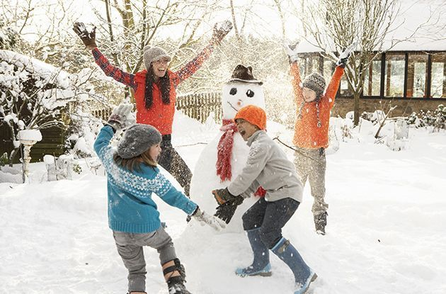 How to Keep Kids Active and Healthy in the Winter