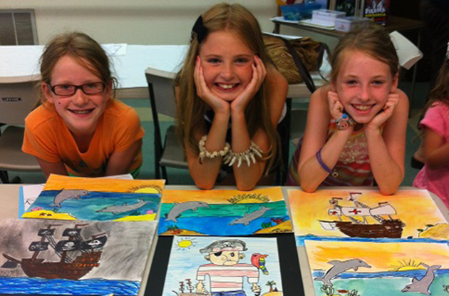 Arts and Crafts Fun for Kids in Suffolk