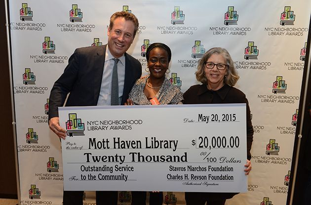 Five Winners of 2nd Annual NYC Library Awards Announced