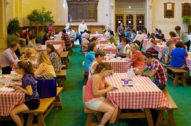 Free Lunchtime Entertainment and Picnic Space at Grand Central