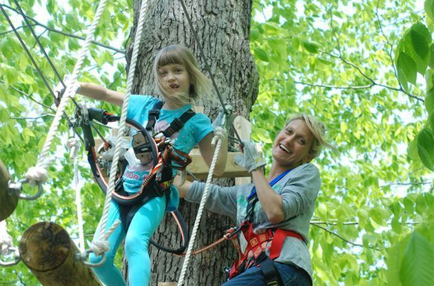Aerial Forest Ropes Park Opens on Long Island