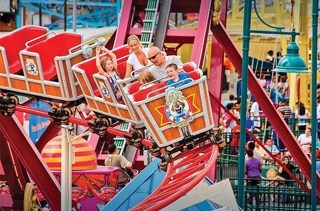 Kids Earn Free Ride Credits at Luna Park for Good Grades