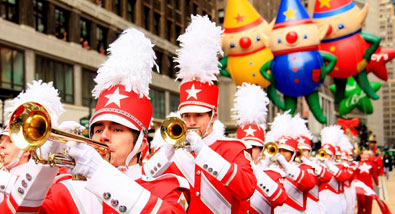 The 86th Annual Macy's Thanksgiving Day Parade Kicks Off the Holiday Season