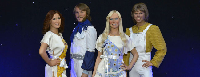 ABBA Arrive at Madame Tussauds NYC in Style