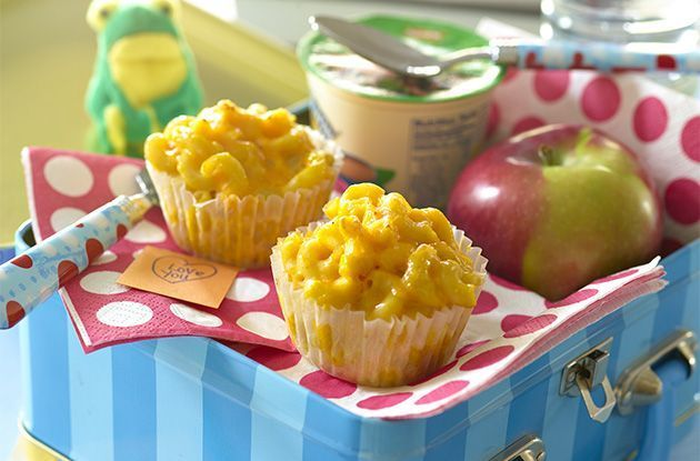 Sneaky Chef Mac and Cheese Muffins Recipe