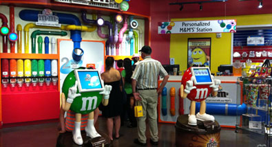 Get 'Personal' at M&M's World New York