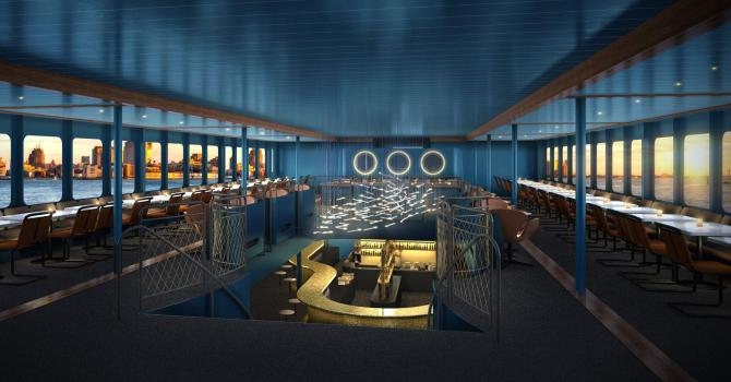 NYC's Newest Cruises: Fish Bar at North River Landing