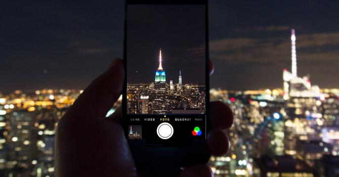 Cell Phone Photography in NYC with B&H
