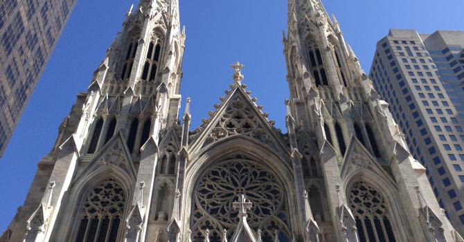 Worshipping in New York City: a Feast for the Eyes, Ears, and Soul