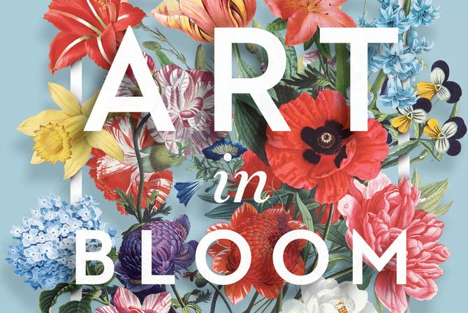 Art in Bloom at Macy's Flower Show