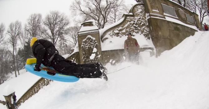 Where to Go Sledding in NYC