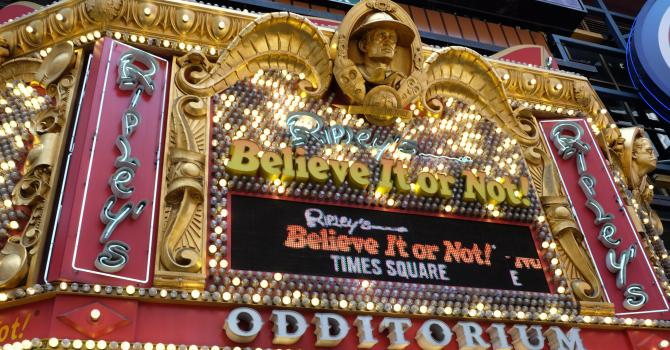 What to See at Ripley's Believe It or Not! Times Square