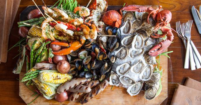Clambake! David Burke Garden Re-Opens in SoHo