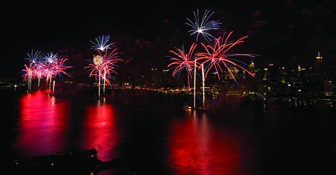 Celebrating 4th of July 2019 in NYC