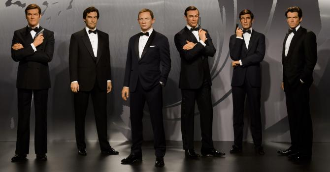 007 Six Ways at Madame Tussauds NYC