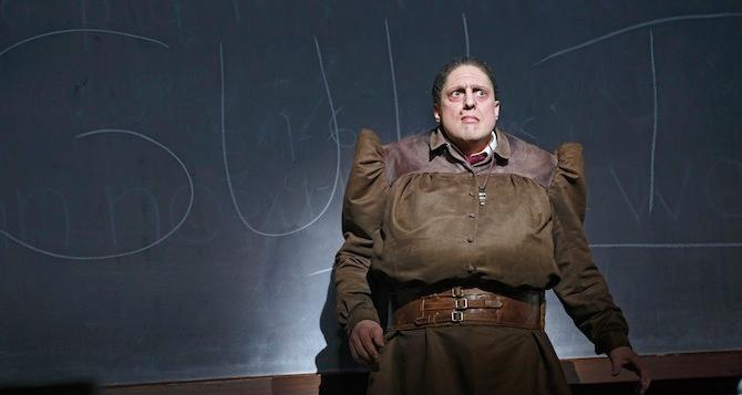 Christopher Sieber Commands Broadway's Matilda as Trunchbull