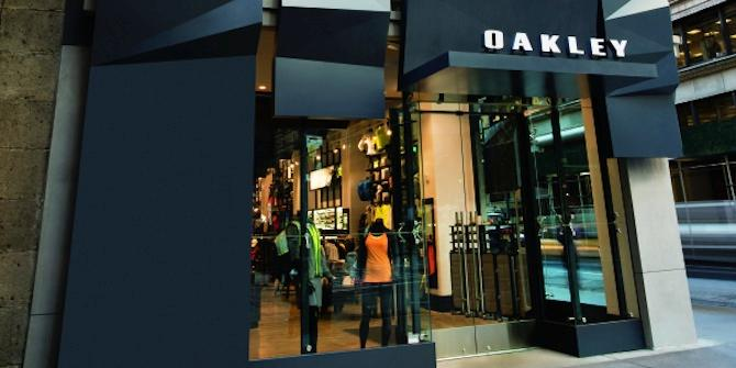 Earthquake on Fifth Avenue: Introducing the Tectonic Plate-Inspired Oakley Flagship Store New York