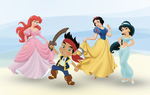 Set Sail with Disney Radio, Circle Line, and Princesses and Pirates