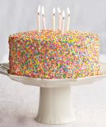 Essential Yellow Birthday Cake with Vanilla Buttercream Frosting