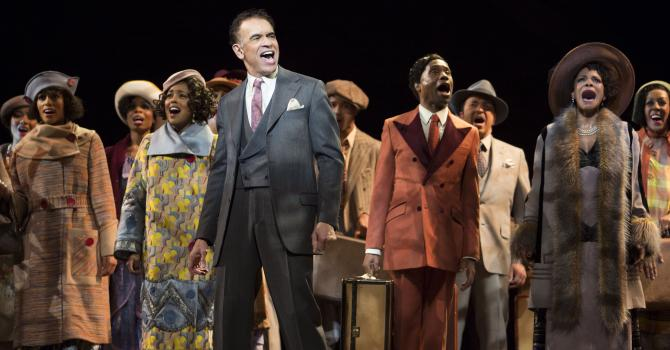 Brian Stokes Mitchell Does More Than Shuffle Along