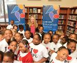 Chelsea Clinton Drops by Brooklyn Public Library for Story Time