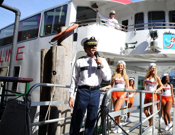 Circle Line Sightseeing Cruises stars on The Celebrity Apprentice, Celebrates 70 Years