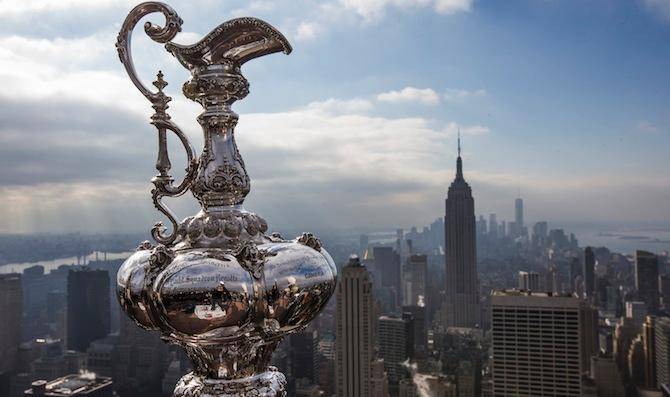 The America's Cup Race Returns to NYC for the First Time in Nearly a Century