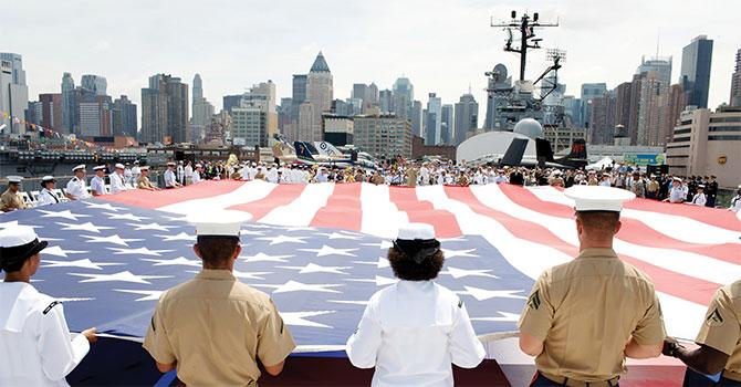 Intrepid Museum Welcomes Fleet Week 2018