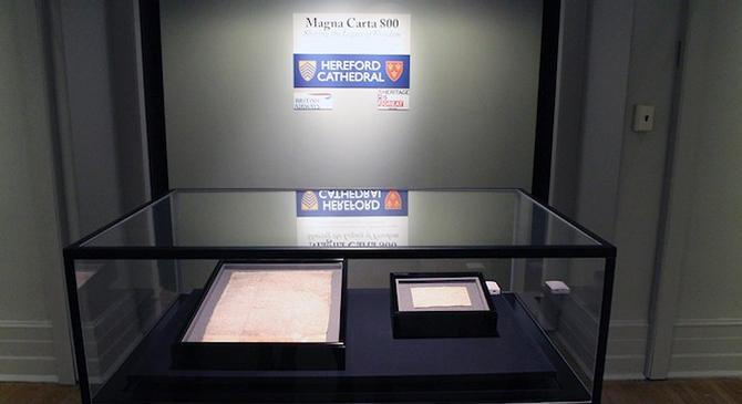 See the Magna Carta in New York City