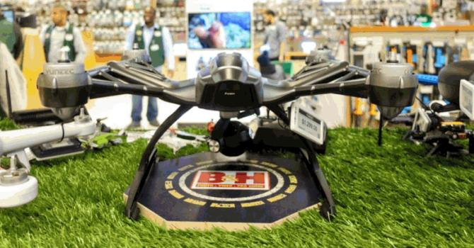 Drone Shopping in New York City with B&H