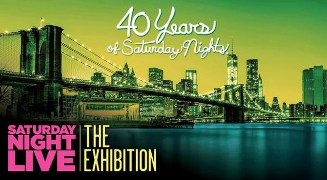 SNL Exhibit Highlights 40 Years of NYC History