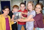 Brooklyn PS 107 Students Publish Book About a Special Rhinoceros Named Andatu
