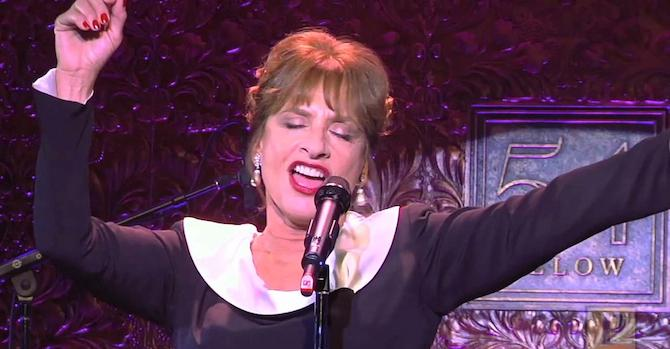 Patti LuPone to Burn Bright at 54 Below