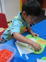 Children Cook and Learn Mandarin at Planet Han
