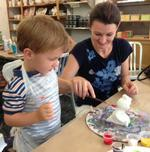 Larchmont Ceramic Studio Allows for Parent-Child Bonding