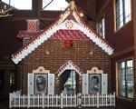 Life-Size Gingerbread House at Great Wolf Lodge Poconos Benefits Charity