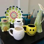 Paint Pottery for Unique Holiday Gifts